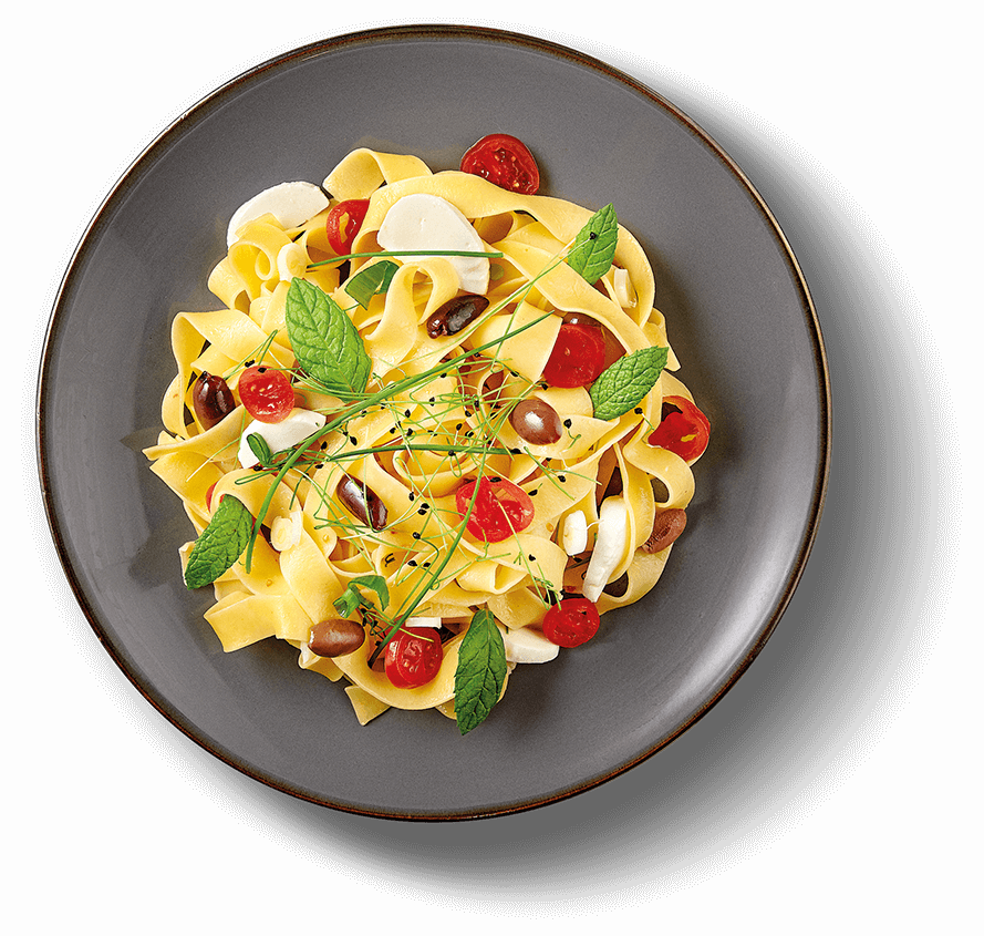 Main Plate of PAPARDELLE MEDITERRANEO